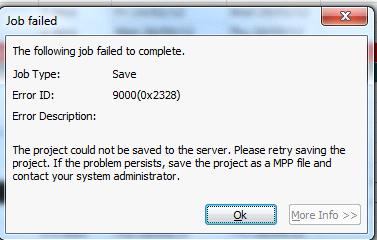 save as pdf unexpected error