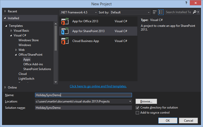 Extending Project Online and on-premises with JavaScript Apps Part 1