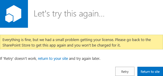 Problems installing Apps in SharePoint farm   Nearbaseline